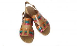 Huarache artesanal para dama modelo 02024 de Natural Sandals.