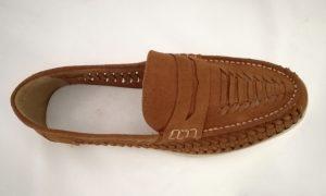 Huarache artesanal para caballero modelo 01052