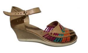 Huarache artesanal para dama modelo 02042 de Natural Sandals.
